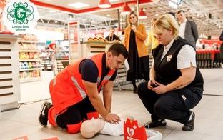 32 Rimi hipermārketos visā Latvijā pieejamas dzīvības glābšanas ierīces - defibrilatori