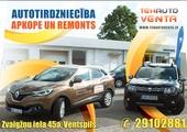 Ventspilī SIA TEHAUTO VENTA piedāvā 25% atlaidi automobiļu apkopei un remontam