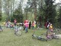 """PII  """"Saulīte"""" svin Starptautisko ģimenes dienu uz velosipēdiem"""