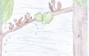 ZĪMĒJUMU KONKURSS jūsu bērniem: Uzzīmēsim Raiņa vai Aspazijas dzejoli!