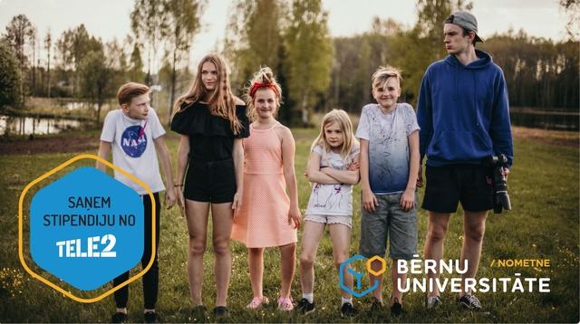 """Vasaras brīvlaikā Bērnu universitātē dienas nometne """"Foto un video"""". Piesakies!"""