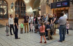 Ģimenes dienā brauciens uz Rīgas Biržu