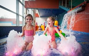 Liepājas Olimpiskā centra BASEINS&SPA aicina bērnus vecumā līdz 6 gadiem baudīt ūdenspriekus bez maksas!