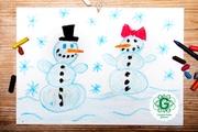 Bērni aicināti zīmēt Ziemassvētku apsveikumus vientuļajiem senioriem