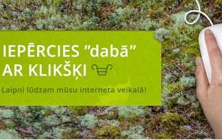 Veikals DABA Jelgavā, piedāvā iepirkties arī attālināti