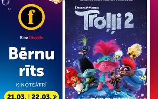 Forum Cinemas aicina uz Bērnu rītu 21.03.un 22.03.