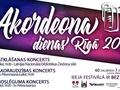 Akordeona dienas Rīgā - ieeja festivālā bez maksas