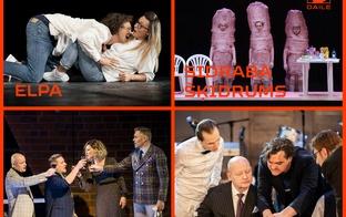 Dailes teātris aicina uz četrām izrādēm