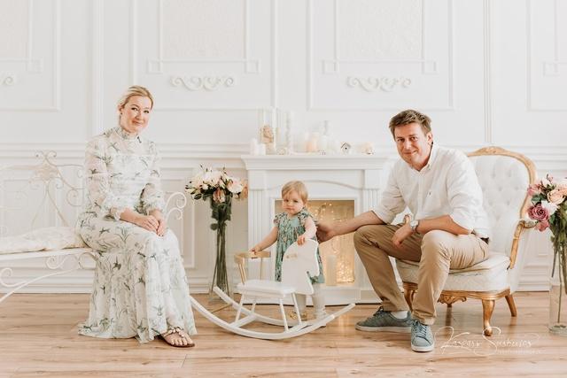 Par skaistiem ģimenes foto!