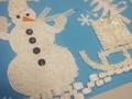 Skolēni, veidojot kolāžas, var iegūt biļetes uz Ledus skulptūru festivālu