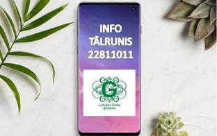 UZMANĪBU, tiks mainīts programmas informatīvā tālruņa numurs