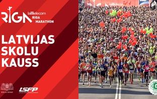 Lattelecom Rīgas maratons aicina skolēnus skriešanas svētkos cīnīties Latvijas Skolu kausā