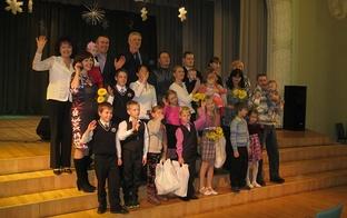 Tērvetes novada daudzbērnu ģimenes saņem Latvijas Bērnu fonda stipendijas