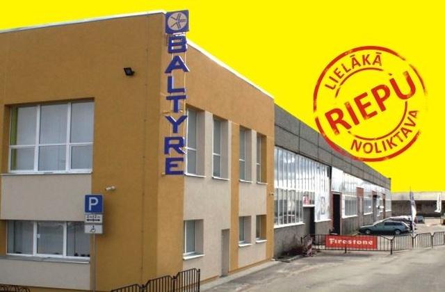 Riepu montāža pie SIA BALTYRE Latvia Jelgavā, tagad ar atlaidi