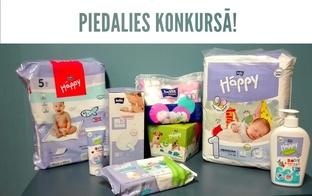 Piedalies konkursā un saņem balvu 35 EUR vērtībā - starta komplektu jaundzimušajam no Bella Baby Happy!