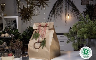 Trešdaļa dāvanu iesaiņojuma nonāk sadzīves atkritumos, tāpēc iemācies saiņot zaļi