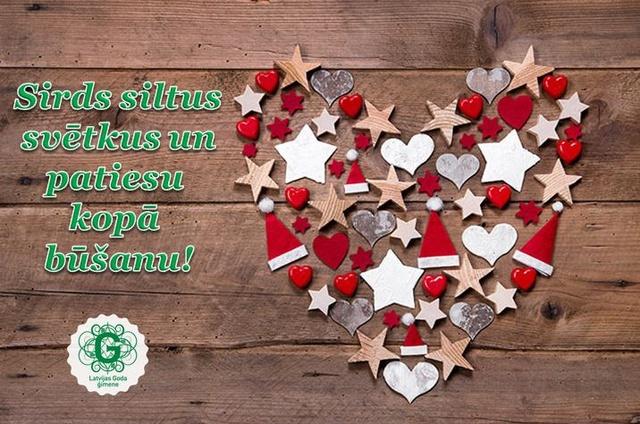 Sirsnīgus svētkus!