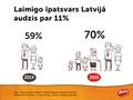 Latvijas iedzīvotāji pēdējā gada laikā kļuvuši laimīgāki