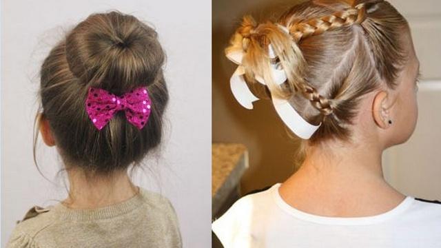 FOTO: Mazo meiteņu izlaiduma frizūras