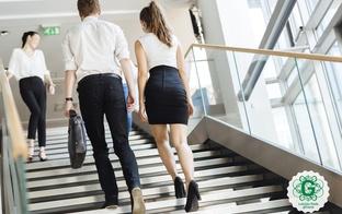 """""""Diena bez lifta 2018"""" notiks 25. aprīlī. Izmantot kāpnes ir veselīgāk!"""