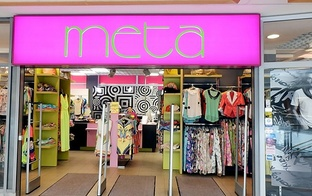 "10% atlaide apģērbiem veikalos ""Meta""!"