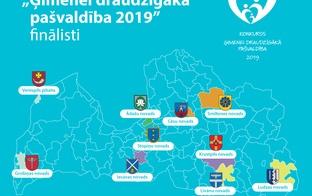 """Zināmi konkursa """"Ģimenei draudzīgākā pašvaldība 2019"""" finālisti"""