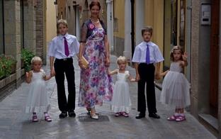 Daudzbērnu ģimene ceļo jeb ITĀLIJA..mūsu versija!