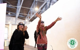 """Skolēnu grupām iespēja bez maksas  iepazīties ar valsts krājuma mākslas darbiem izstādē """"Latvijas māksla digitālajā laikmetā"""""""