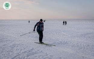 Jūrmalā izveidota distanču slēpošanas trase vairāk nekā 20 km garumā