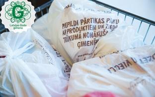 Sniedz palīdzīgu roku trūkumā nonākušām ģimenēm, piepildot pārtikas paku –  jau otro reizi Rimi veikalos norisinās kampaņa Paēdušai Latvijai
