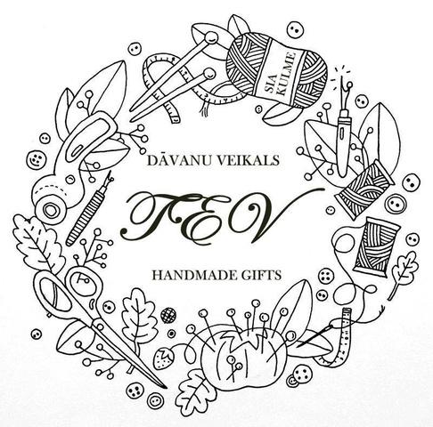 """Veikalā """"TEV"""" dāvanas no Latvijā ražotām ēdamām un neēdamam lietām bērniem un pieaugušajiem"""