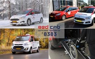Red Cab taksometri un Red Bus autobusi daudzbērnu ģimenēm piedāvā lētākus pakalpojumus!