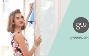 Tīri māju ar prieku- Greenwalk piedāvā VIP klienta priekšrocības