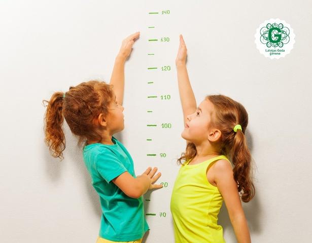 Bērna auguma un svara attiecības līdz piecu gadu vecumam