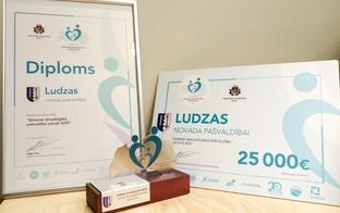 Par ģimenei draudzīgāko pašvaldību Latvijā 2020. gadā atzīta Ludzas novada pašvaldība