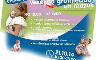 Māmiņu Klubs piedāvā: Video konference par daudzbērnu ģimeņēm, pabalstiem, veselīgu grūtniecību un bērnu attīstību